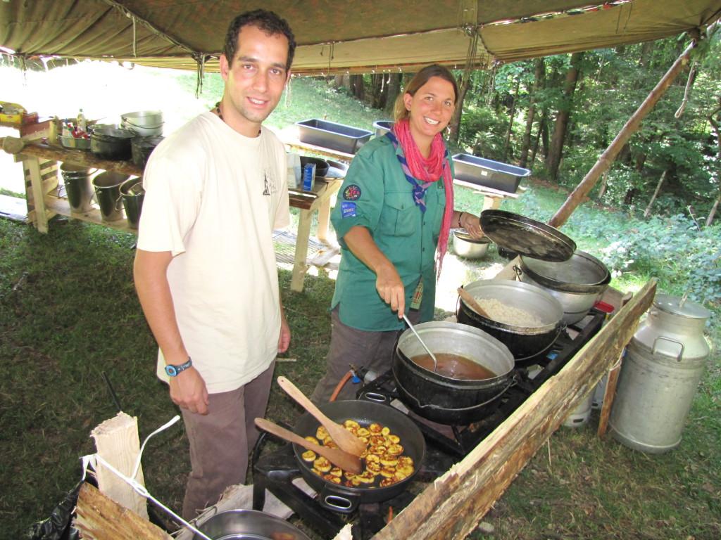 ocelot et agami à la cuisine